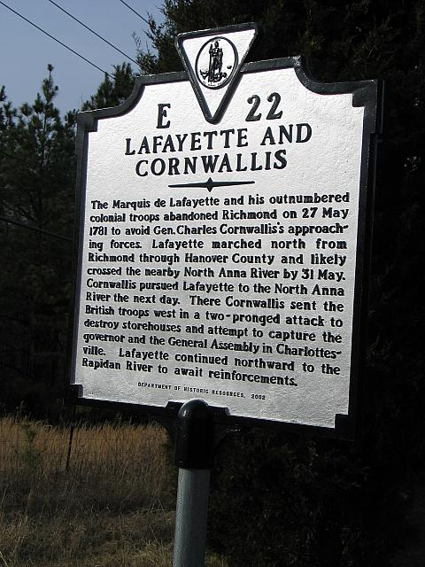 2- Lafayette and Cornwallis